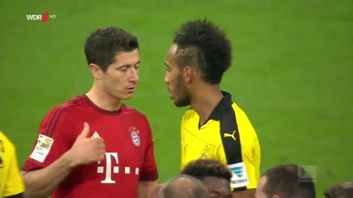 Lewandowski & Aubameyang - Bayern v Dortmund 3