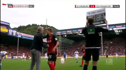 Lucas Hufnagel – SC Freiburg v FSV Frankfurt 1