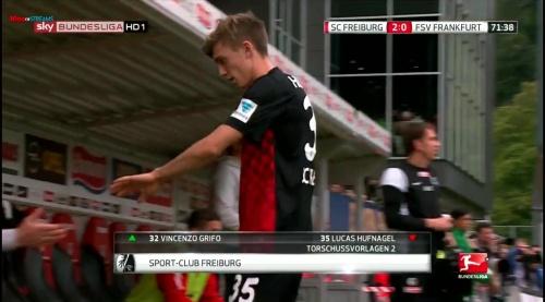 Lucas Hufnagel – SC Freiburg v FSV Frankfurt 2