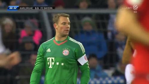 Manuel Neuer – KSC v Bayern friendly 3