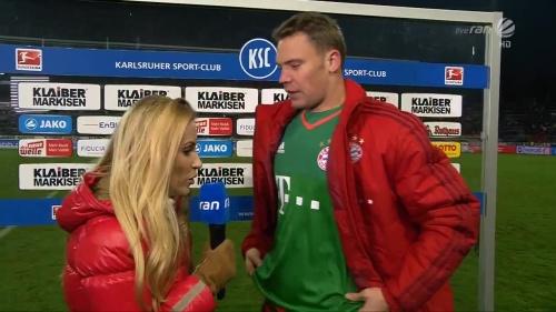 Manuel Neuer – KSC v Bayern friendly 4