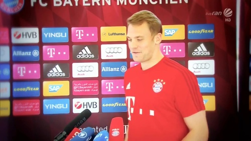 Manuel Neuer - KSC v Bayern friendly 1