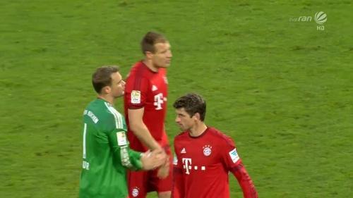 Manuel Neuer & Thomas Müller – KSC v Bayern friendly 1