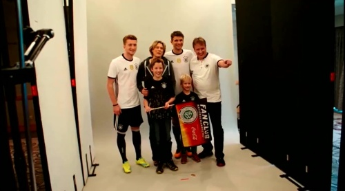 Marco Reus & Thomas Müller - Marketingtag in München