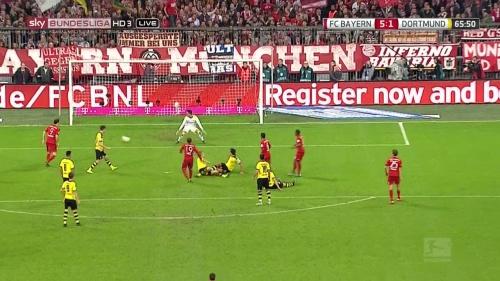 Mario Götze - Bayern v Dortmund 3