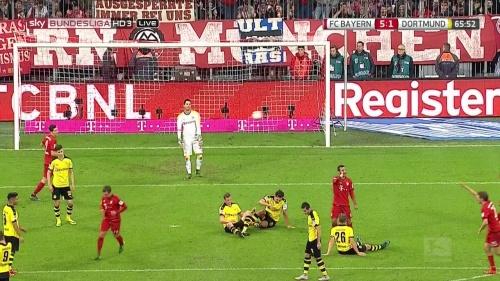 Mario Götze - Bayern v Dortmund 4