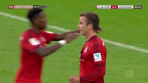 Mario Götze - Bayern v Dortmund 5