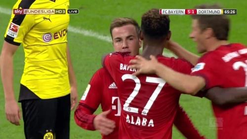 Mario Götze - Bayern v Dortmund 6