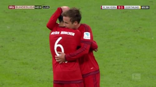 Mario Götze - Bayern v Dortmund 9