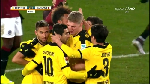 Matthias Ginter - Dortmund v Sparta Prague 7
