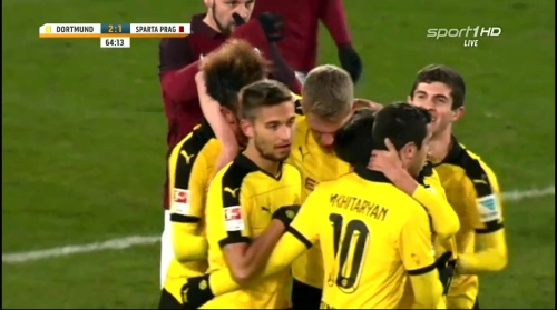 Matthias Ginter - Dortmund v Sparta Prague 8