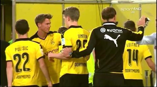 Matthias Ginter & Thomas Tuchel - Borussia Dortmund v Jeonbuk Hyundai Motors 1