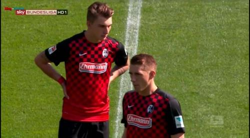 Maximillian Phillip & Nils Petersen – SC Freiburg v FSV Frankfurt 1