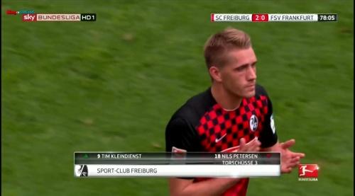 Nils Petersen – SC Freiburg v FSV Frankfurt 1