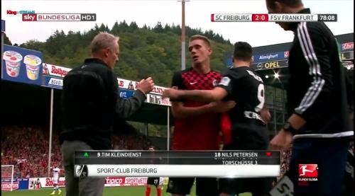 Nils Petersen – SC Freiburg v FSV Frankfurt 2