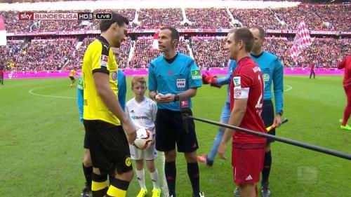 Philipp Lahm - Bayern v Dortmund 1
