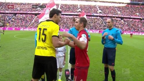 Philipp Lahm - Bayern v Dortmund 2