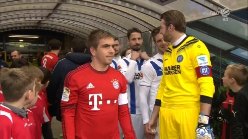 Philipp Lahm – KSC v Bayern friendly 3