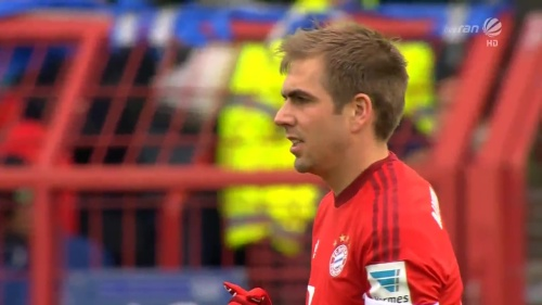 Philipp Lahm – KSC v Bayern friendly 4