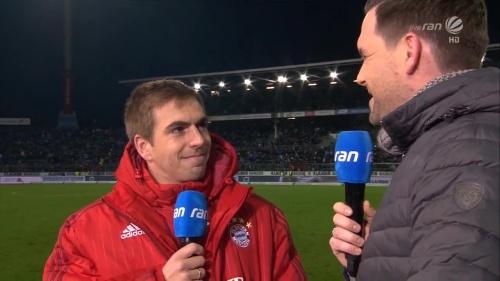 Philipp Lahm – KSC v Bayern friendly 5