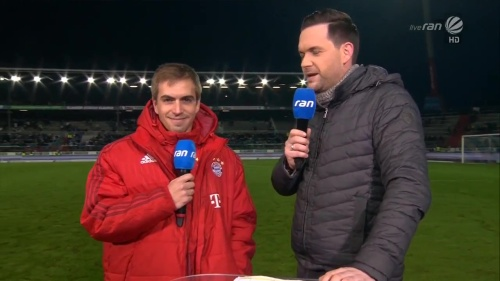Philipp Lahm – KSC v Bayern friendly 6