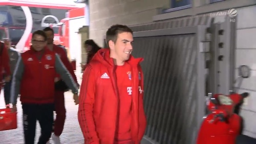 Philipp Lahm - KSC v Bayern friendly 1