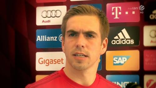 Philipp Lahm - KSC v Bayern friendly 2
