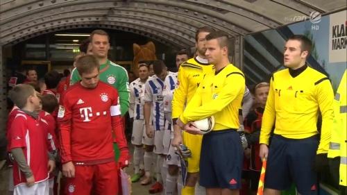 Philipp Lahm & Manuel Neuer – KSC v Bayern friendly 1