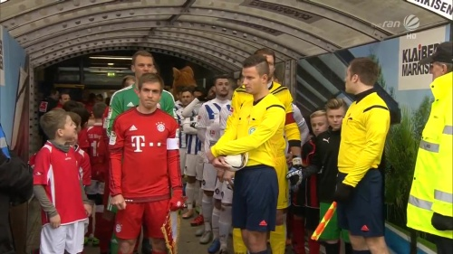 Philipp Lahm & Manuel Neuer – KSC v Bayern friendly 2