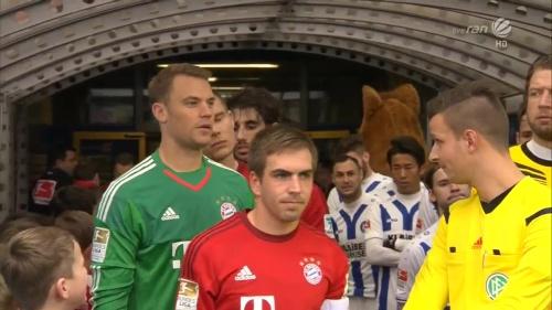 Philipp Lahm & Manuel Neuer – KSC v Bayern friendly 3