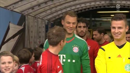 Philipp Lahm & Manuel Neuer – KSC v Bayern friendly 5