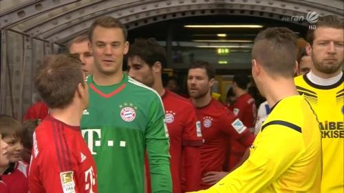 Philipp Lahm & Manuel Neuer – KSC v Bayern friendly 6