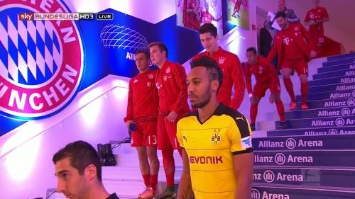 Robert Lewandowski - Bayern v Dortmund 1