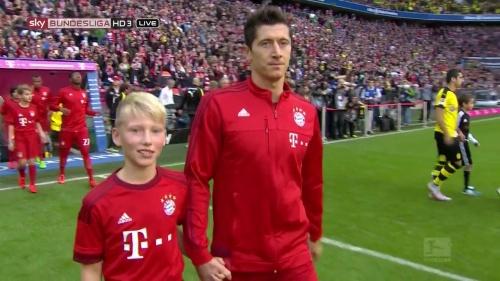 Robert Lewandowski - Bayern v Dortmund 2