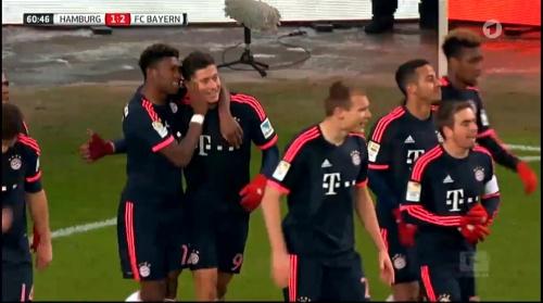 Robert Lewandowski - HSV v Bayern 1
