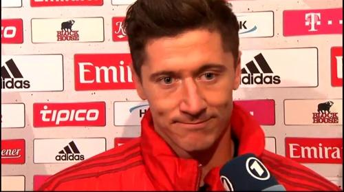 Robert Lewandowski - HSV v Bayern 2