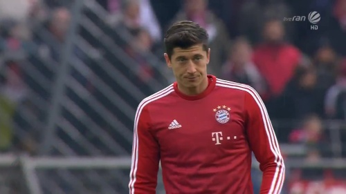 Robert Lewandowski - KSC v Bayern friendly 1