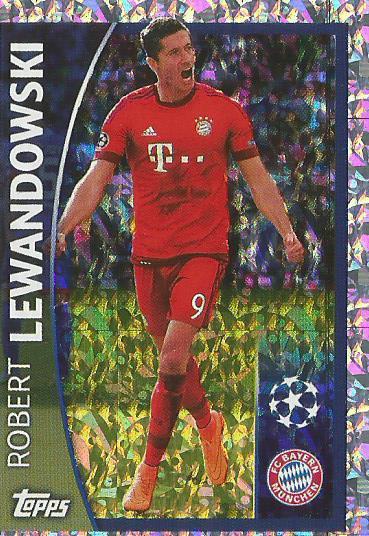 Robert Lewandowski - shiny Bayern CL 15-16 sticker