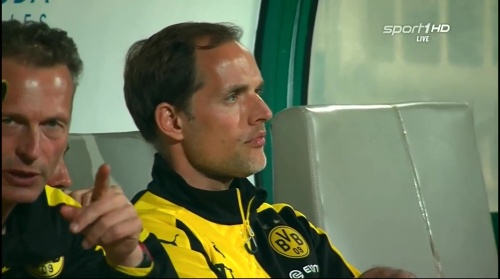 Thomas Tuchel - Dortmund v Eintracht Frankfurt friendly 1