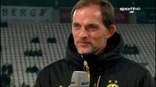 Thomas Tuchel - Dortmund v Sparta Prague 1
