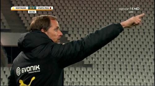 Thomas Tuchel - Dortmund v Sparta Prague 5