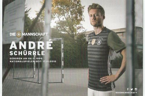 Andre Schürrle – die Mannschaft 2016 card 2