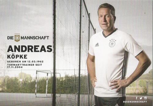 Andreas Köpke – die Mannschaft 2016 card 2
