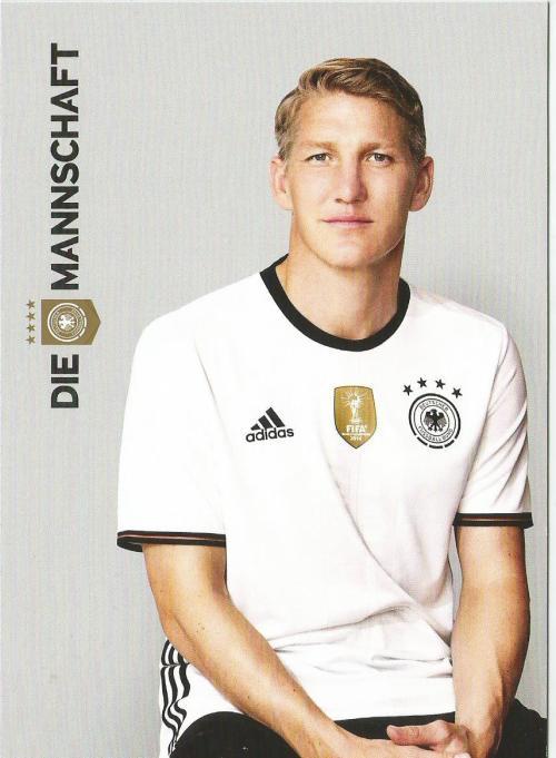 Bastian Schweinsteiger – die Mannschaft 2016 card 1
