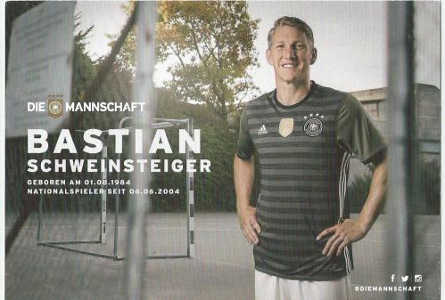 Bastian Schweinsteiger – die Mannschaft 2016 card 2