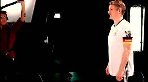 Bastian Schweinstieger - making of Mercedes ad 1