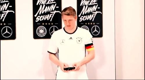 Bastian Schweinstieger - making of Mercedes ad 2