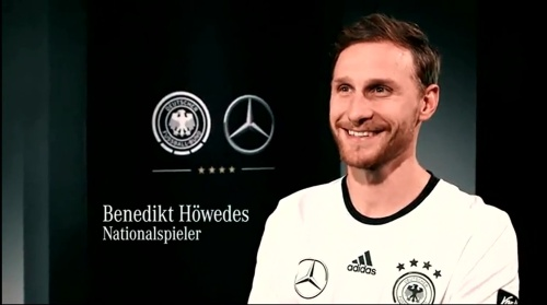 Benedkit Höwedes - making of Mercedes ad 2