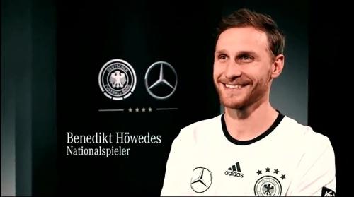 Benedkit Höwedes - making of Mercedes ad 2