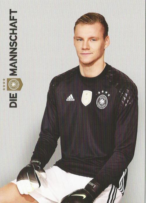 Bernd Leno – die Mannschaft 2016 card 1